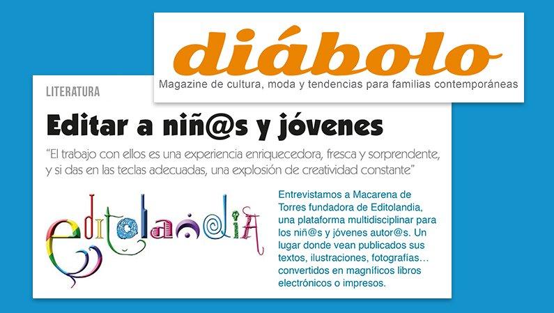 Entrevista a Macarena de Torres en Diábolo Magazine