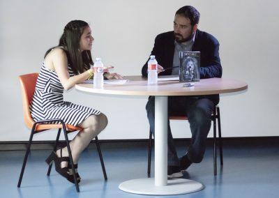 Entrevista de Javier Fernández a Macarena