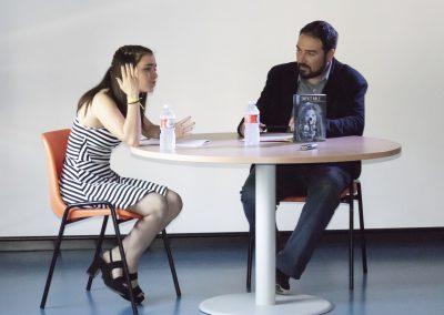Macarena y Javier